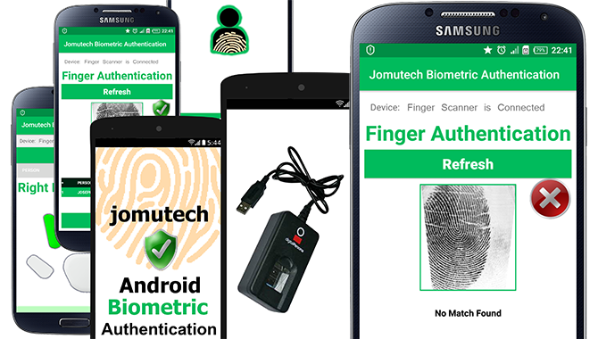 Android Biometric Fingerprint Authentication Software Module Pack