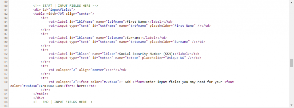 HTML5 Web Biometrics Authentication Client Side