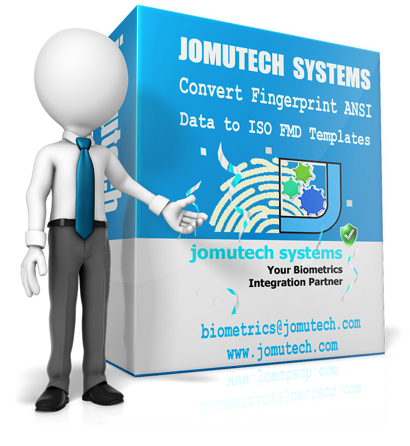 Convert ANSI Fingprint Data Template to ISO Fingerprint Data Template at Jomutech Systems