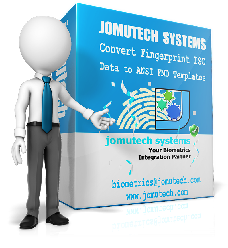Convert ISO Fingerprint Data Template to ANSI Fingerprint Data Template at Jomutech Systems