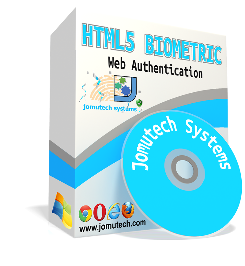 HTML5 Web Biometric Authentication and Integration Software Pack