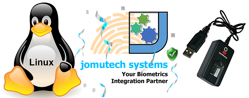 Linux Biometric Authentication Server Support at Jomutech Systems