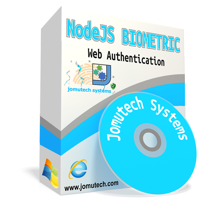 NodeJS Web Biometric Authentication and Integration Software pack