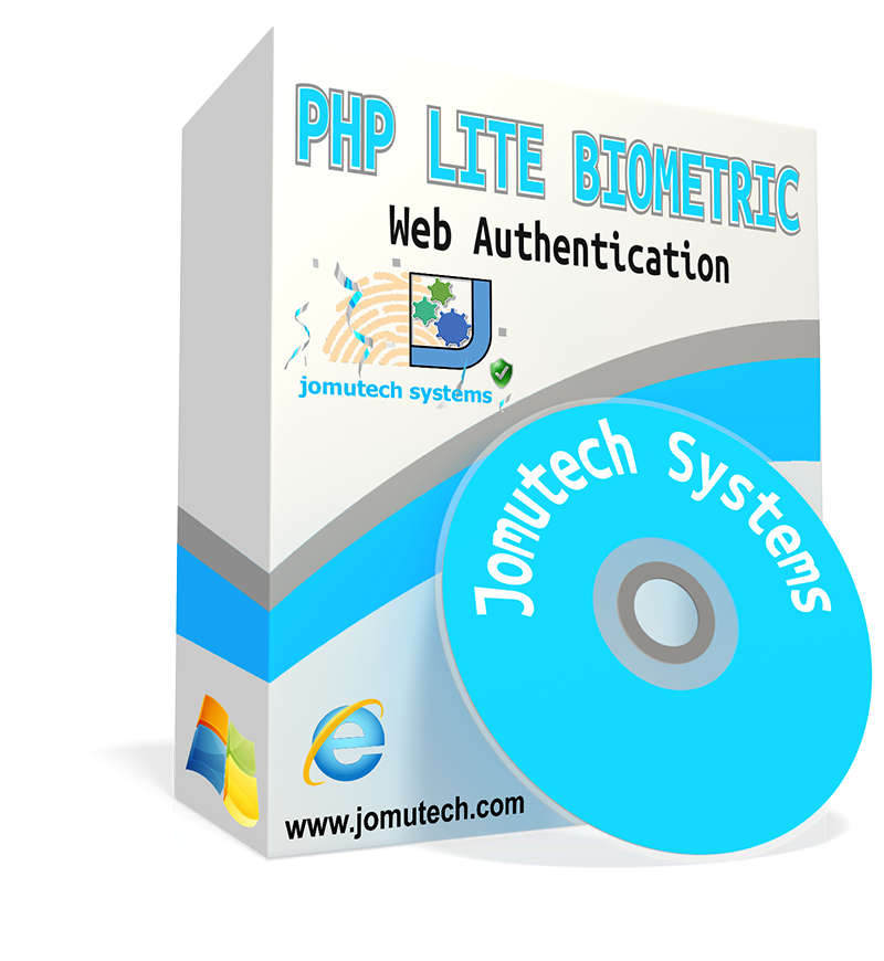 PHP Web Biometric Authentication and Integration Lite Software pack