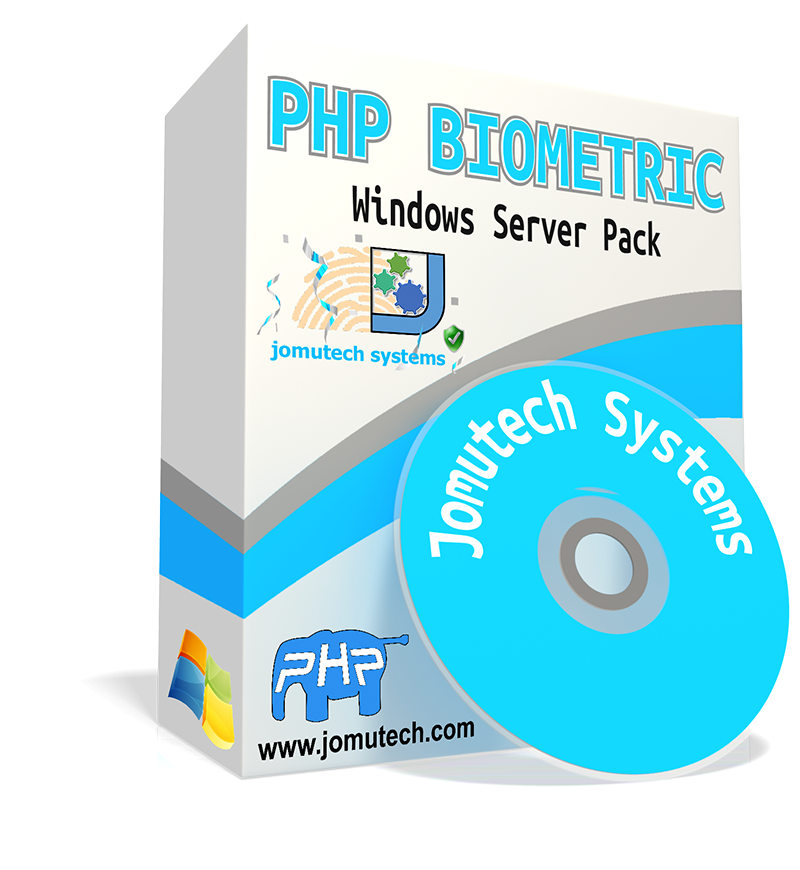 PHP Biometric Authentication Windows Server pack