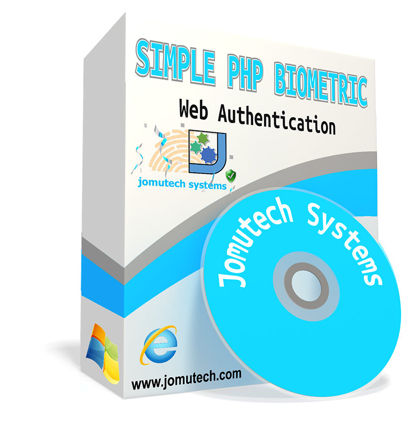 Simple PHP Web Biometric Authentication and Integration Software pack