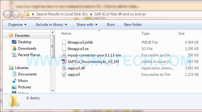 SAP JCO sources and Java jar files for Windows and Linux SAP ABAP integration with 3rd party Software Applications