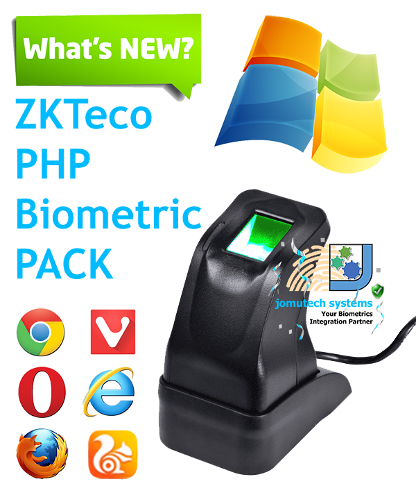 ZKTeco 4500 PHP Biometric Authentication PACK