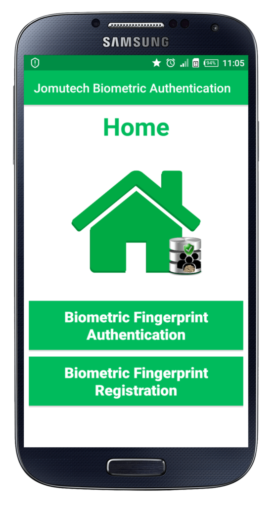 Before Saving Android Biometric Fingerprint Authentication Home