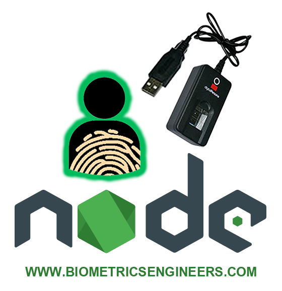 Node.JS Biometric Fingerprint Authentication Software Pack at Jomutech Systems