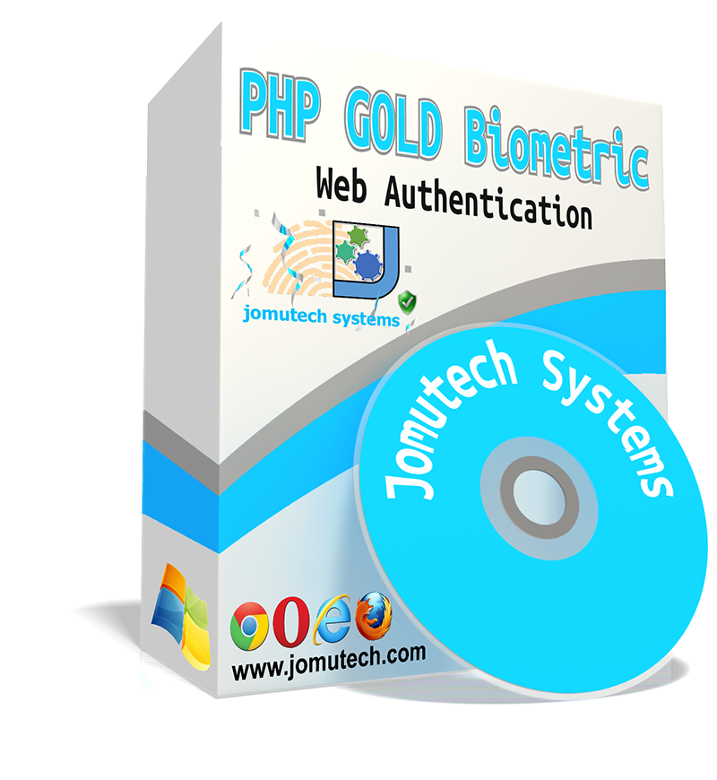 PHP Web Biometric Gold Authentication PACK
