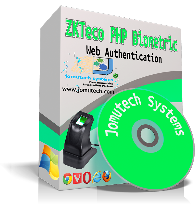ZKTeco PHP web Biometric Authentication Software PACK